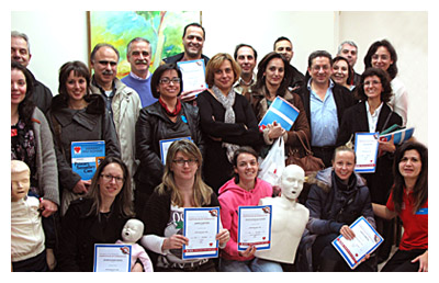 IKA Doctors trained in first aid